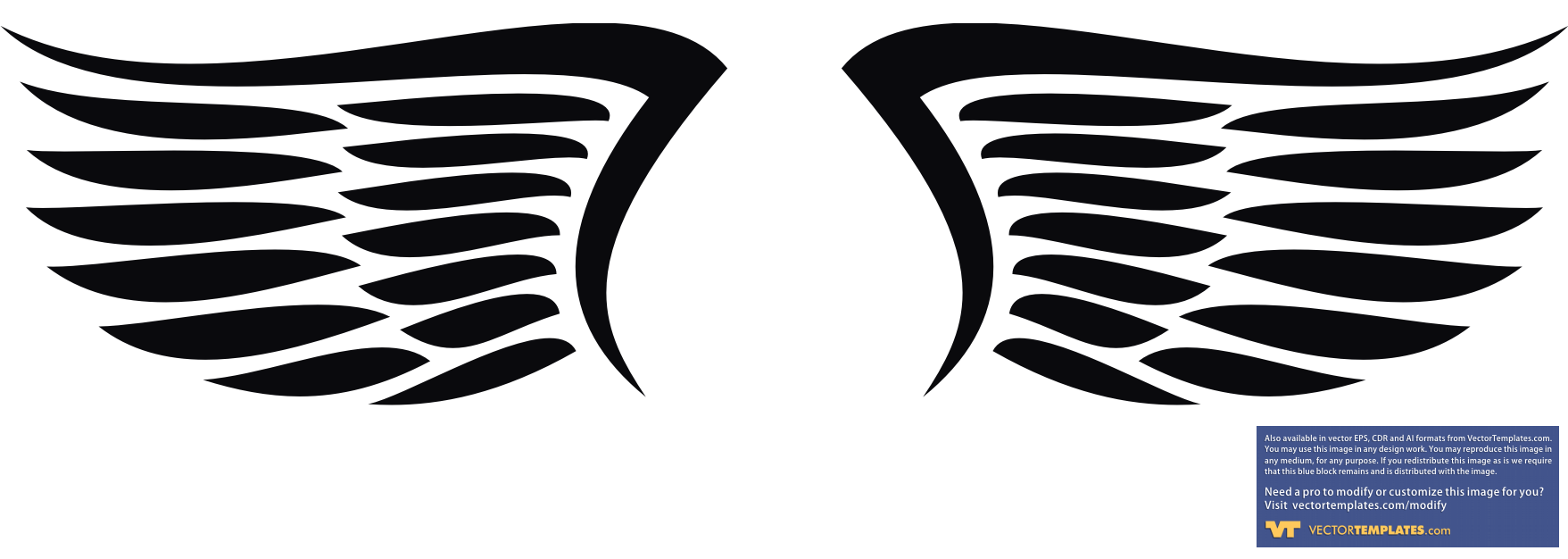 Eagles superman logo clipart vector black and white download Wings Images vector black and white download