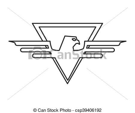 Eagles superman logo clipart picture freeuse download EPS Vectors of superhero superman eagle design - eagle striped ... picture freeuse download