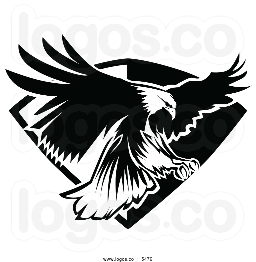 Eagles superman logo clipart svg library Eagle Head Clipart Black And White | Clipart Panda - Free Clipart ... svg library