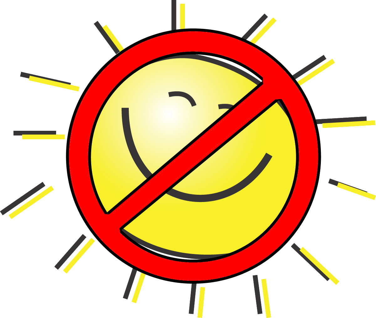 No sign sun clipart banner free download Wrinkles | Humara Health banner free download