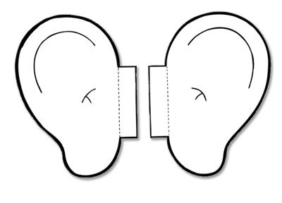 Ears clipart black and white for kids png transparent stock Listening Ears Images | Clipart Panda - Free Clipart Images | Crafts ... png transparent stock