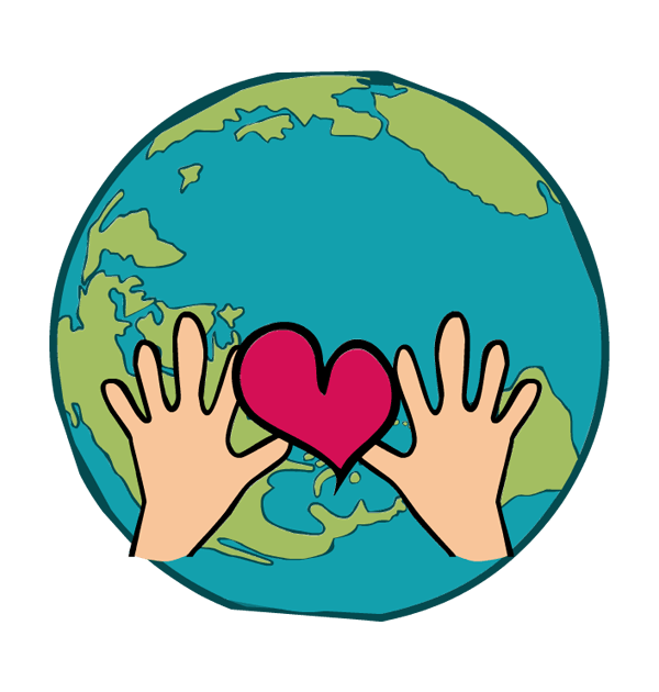Earth and sun clipart. Heart free download best