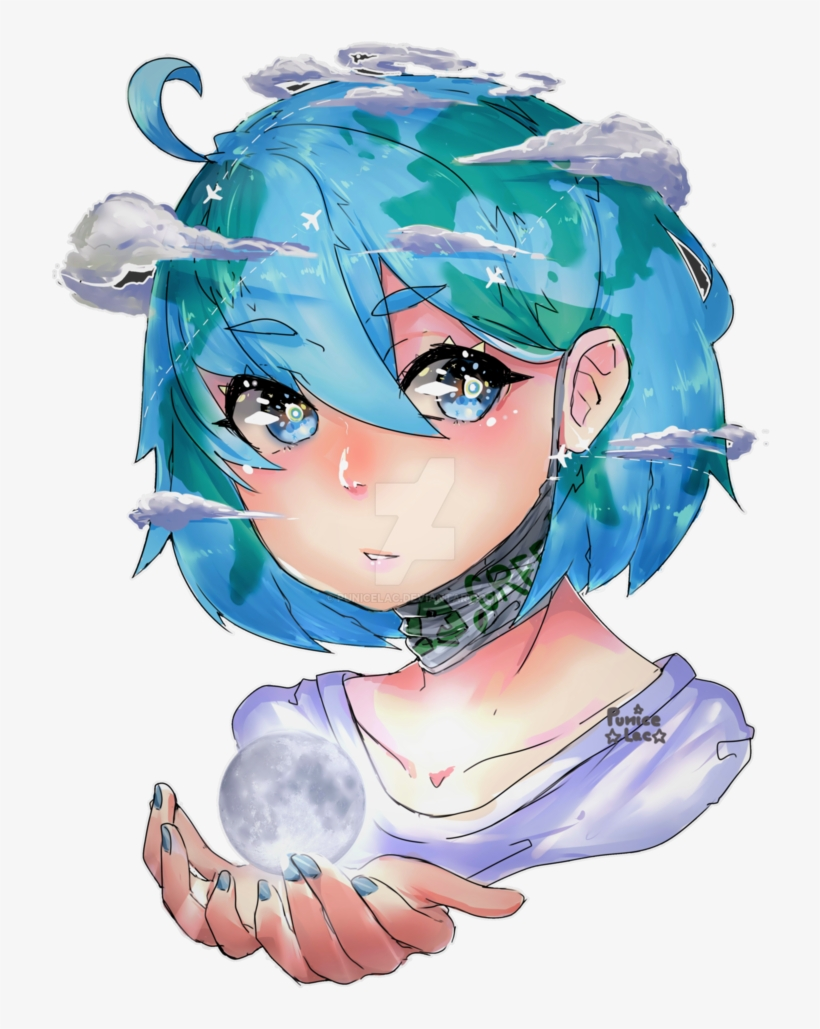 Earth chan clipart