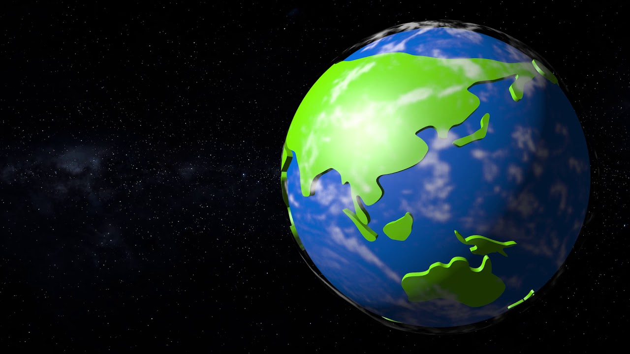 Earth day animated clipart svg library download Cartoon Clipart Earth Rotation | Anime World Earth Day Celebration | 3D 4K  Animated Background #42 svg library download
