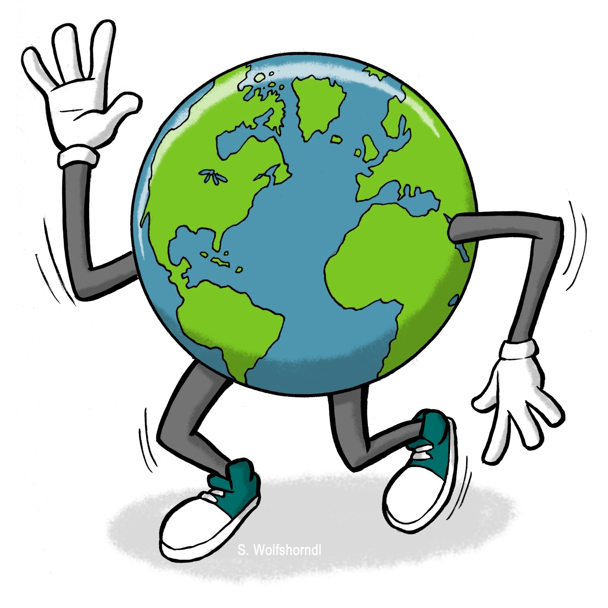 Earth day animated clipart picture free library Earth Day Animated Free Panda Images clipart free image picture free library