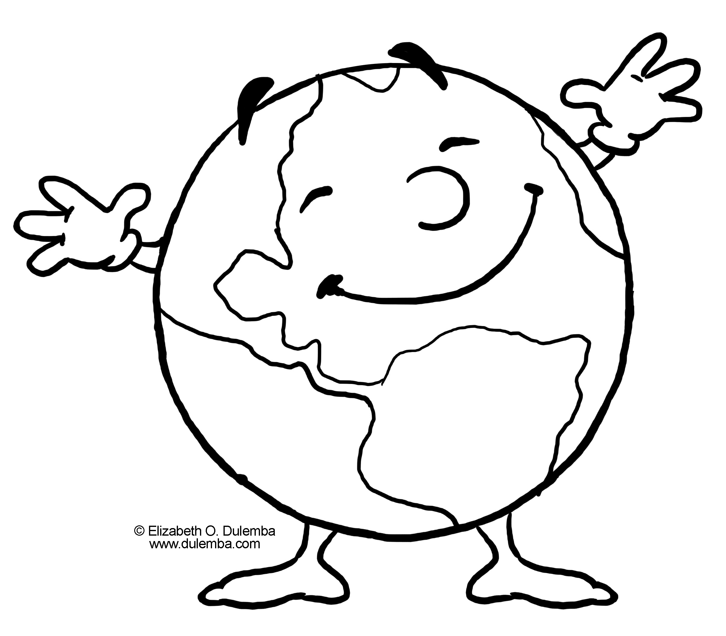 Earth day coloring pages clipart clip free download Earth Day Coloring Pages | Clipart Panda - Free Clipart Images clip free download