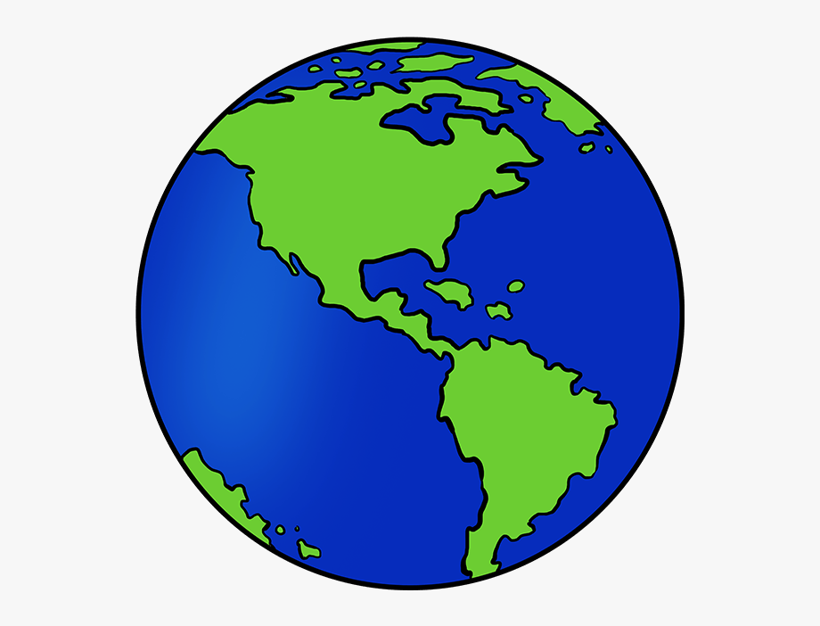 Earth drawing clipart image free How To Draw Earth - Sketch Easy Earth Drawing #1004768 - Free ... image free