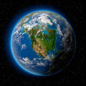 Earth from space clipart clip transparent stock Stock Illustration of Earth in Space k4707345 - Search Clipart ... clip transparent stock