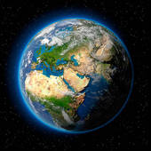 Earth from space clipart jpg freeuse download Stock Illustration of Earth in Space k4707345 - Search Clipart ... jpg freeuse download