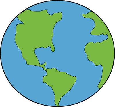 Earth from space clipart clipart free library Earth from space clipart - ClipartFest clipart free library