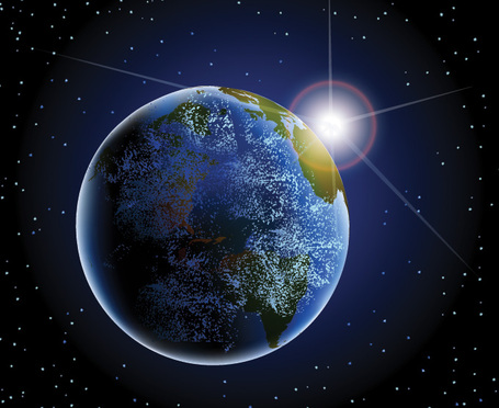 Earth from space clipart picture transparent download Earth and space clipart - ClipartFest picture transparent download