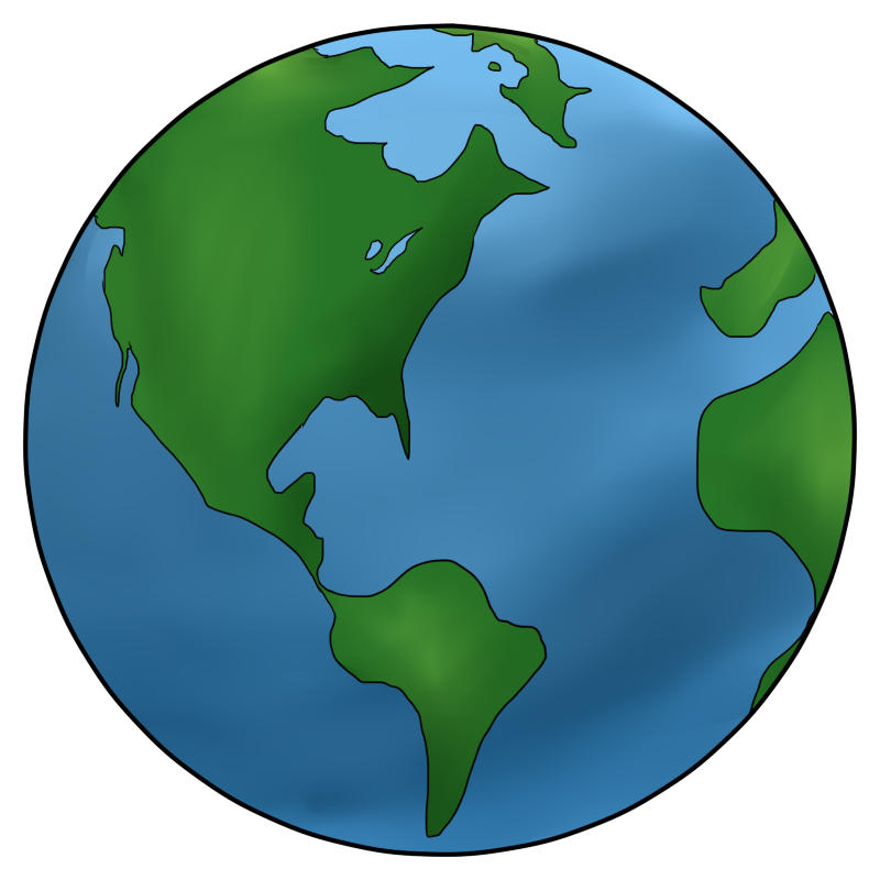 Earth from space clipart picture free library Earth Science Clipart - Clipart Kid picture free library