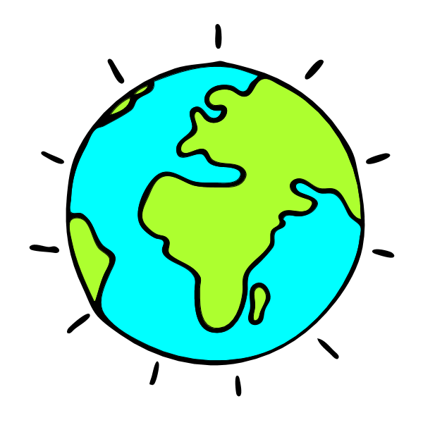 Earth tilted toward the sun black and white cartoon clipart jpg royalty free Earth with axis tilted toward sun free png png files, Free CLip Art ... jpg royalty free