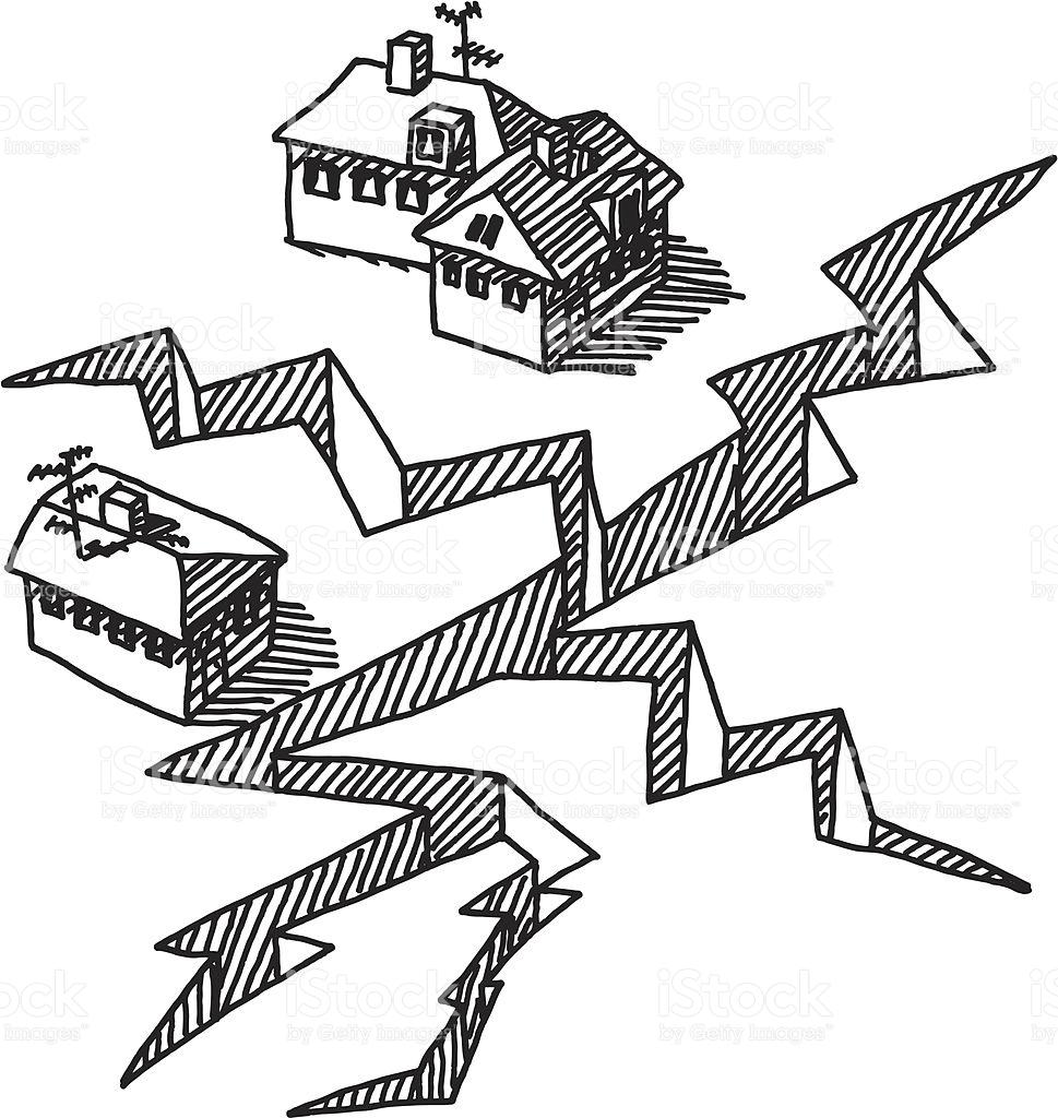 Earthquake clipart black and white clip art freeuse stock Earthquake clipart black and white 2 » Clipart Station clip art freeuse stock