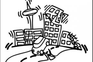 Earthquake clipart black and white clip black and white library Earthquake clipart black and white » Clipart Portal clip black and white library