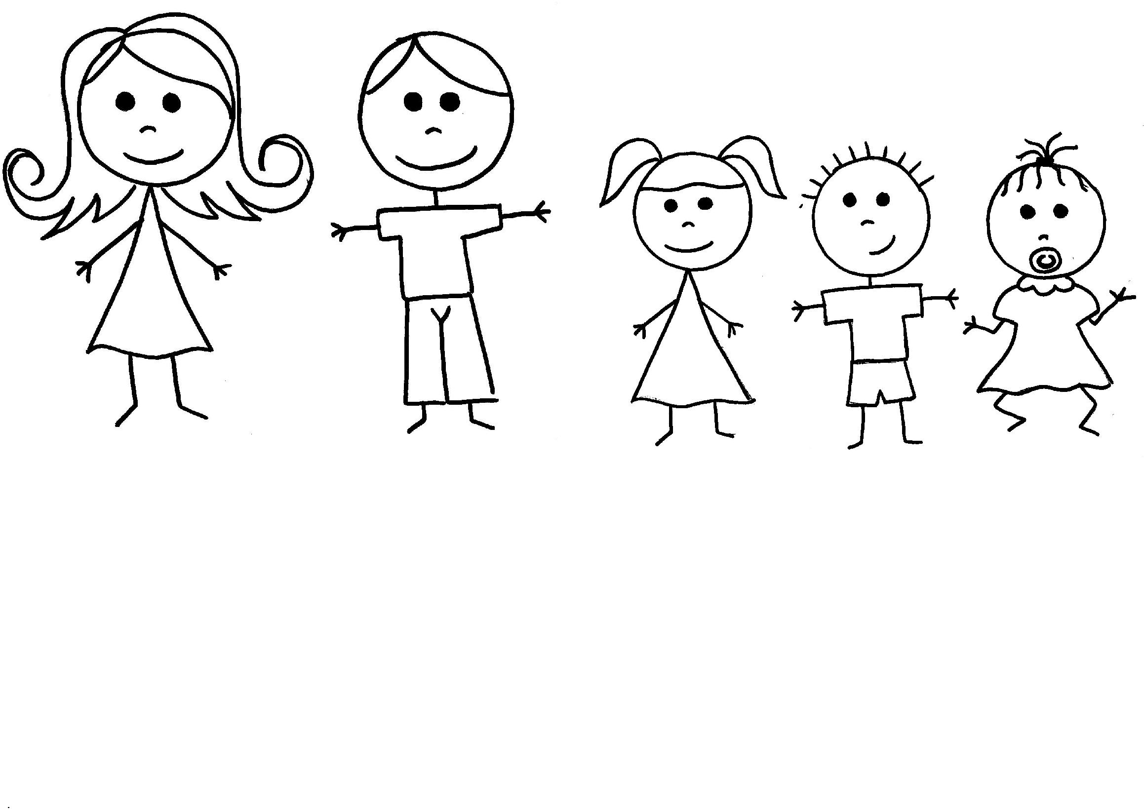 Stick african american family of 5 clipart png royalty free download Free Family Stick Figures, Download Free Clip Art, Free Clip Art on ... png royalty free download