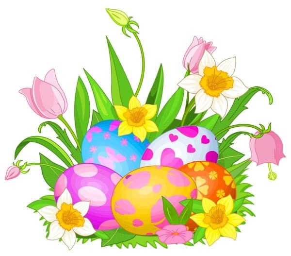Easter 2017 clipart banner black and white Easter Images | Free download best Easter Images on ClipArtMag.com banner black and white