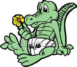Easter alligator clipart clip library library Cute Baby Alligator Clipart | Clipart Panda - Free Clipart Images clip library library