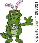 Easter alligator clipart jpg freeuse stock Royalty Free Alligator Illustrations by Dennis Holmes Designs Page 1 jpg freeuse stock