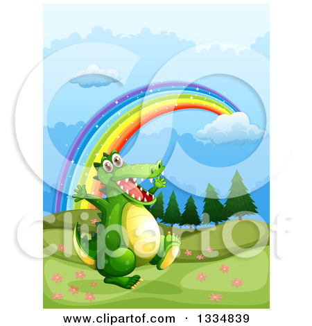 Easter alligator clipart banner freeuse stock Royalty-Free (RF) Alligator Clipart, Illustrations, Vector Graphics #6 banner freeuse stock