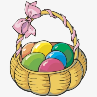 Easter basket border clipart freeuse library Easter Eggs Clipart Candy - Clip Art Easter Egg Basket #123573 ... freeuse library