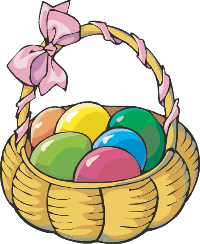 Easter egg basket clip art clip art freeuse Web Design & Development | Pinterest | Easter baskets, Clip art and ... clip art freeuse