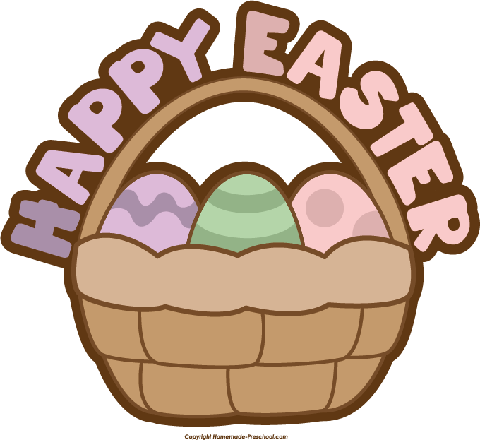 Easter basket clipart image stock Free Easter Basket Clipart image stock