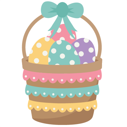 Easter basket clipart png library Easter basket clipart with clear background - ClipartFest png library