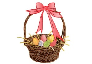 Easter basket clipart free jpg stock Easter Basket Clip Art - Free backgrounds, free vector graphics ... jpg stock