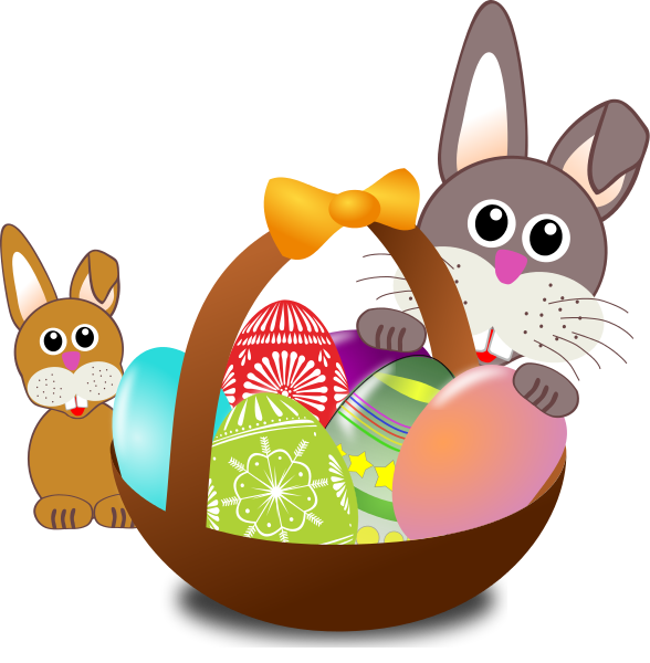 Easter basket clipart free graphic free Free to Use & Public Domain Easter Baskets Clip Art graphic free