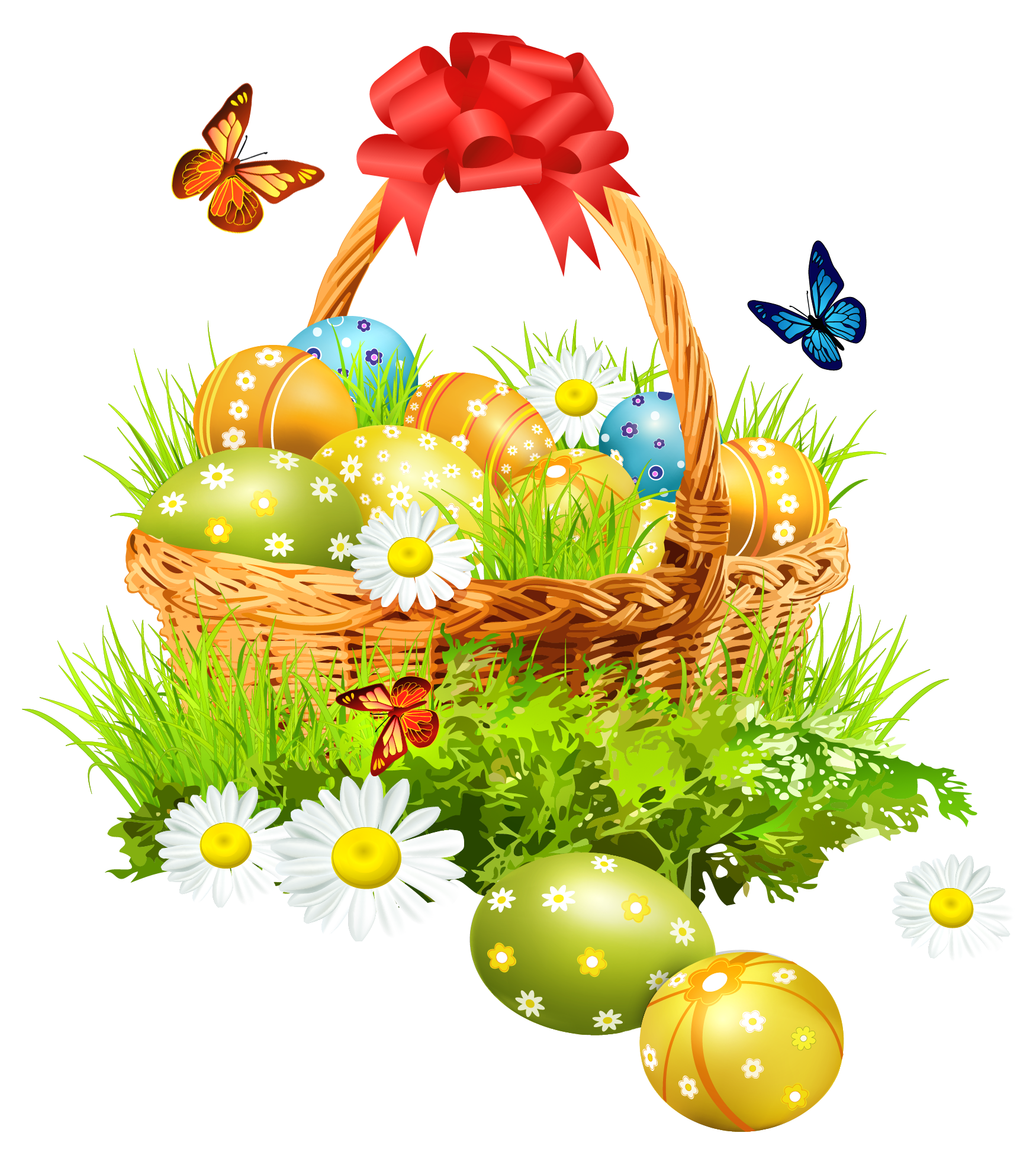 Easter basket clipart free png download Easter Basket Pics | Free Download Clip Art | Free Clip Art | on ... png download