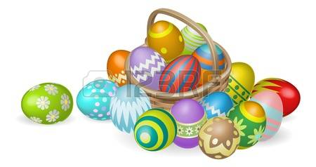 Easter basket pictures clipart clipart free stock 13,656 Easter Basket Cliparts, Stock Vector And Royalty Free ... clipart free stock