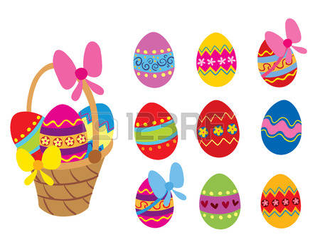 Easter basket pictures clipart svg freeuse download 13,656 Easter Basket Cliparts, Stock Vector And Royalty Free ... svg freeuse download