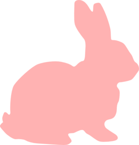 Easter basket silhouette clipart vector transparent download Easter bunny silhouette clip art - ClipartFox vector transparent download