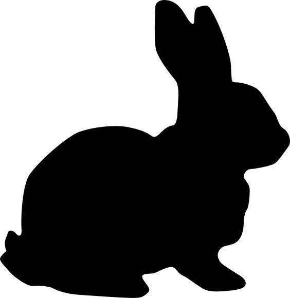 Easter basket silhouette clipart clip download bunny silohette image | Rabbit Silhouette clip art - vector clip ... clip download