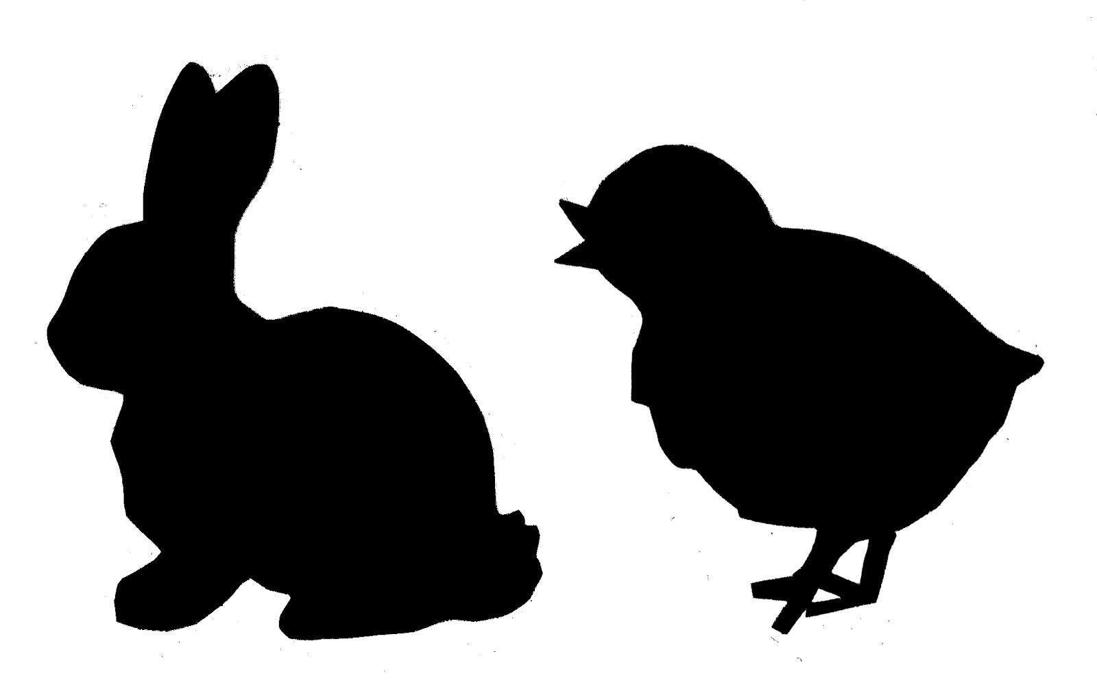 Easter basket silhouette clipart banner freeuse Silhouette easter clipart - ClipartFest banner freeuse