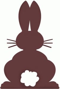 Easter basket silhouette clipart svg library 17 Best images about Ears Silhouette | Easter bunny ears, The o ... svg library