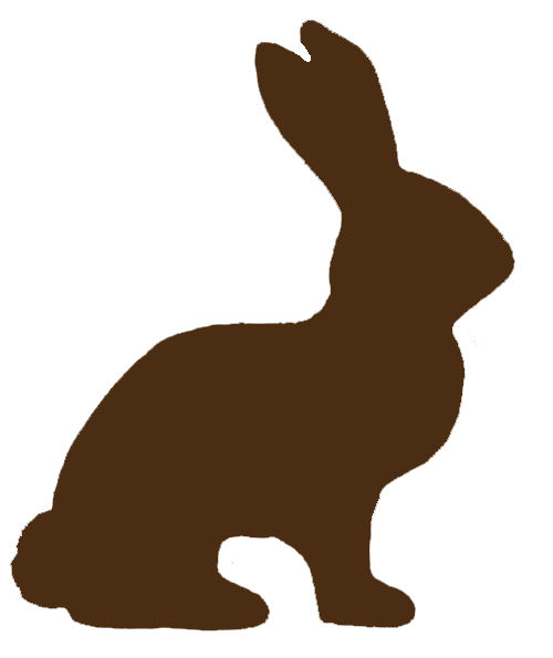 Easter basket silhouette clipart png freeuse stock Easter Bunny Silhouettes Clipart - Clipart Kid png freeuse stock