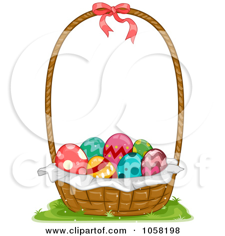 Easter basket straw clipart banner free download Royalty-Free (RF) Easter Basket Clipart, Illustrations, Vector ... banner free download