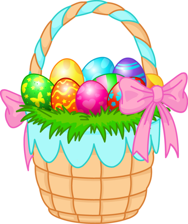 Easter basket straw clipart graphic transparent Easter basket straw clipart - ClipartFest graphic transparent