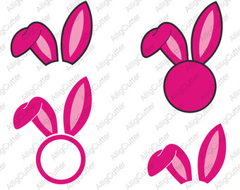 Easter bunny ears clipart black and white cricut clip art free download Bunny Ears Clipart | Free download best Bunny Ears Clipart on ... clip art free download