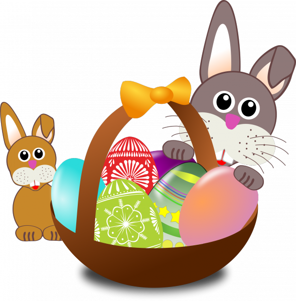 Easter bunny hunt clipart jpg freeuse Best Easter egg hunts in Cleveland-Akron - AXS jpg freeuse