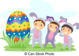 Egg hunt Illustrations and Clip Art. 4,562 Egg hunt royalty free ... clip library library