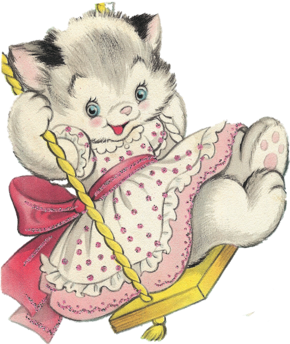 Easter cat clipart.  x kb mew