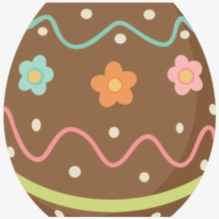 Easter chocolate clipart png free stock Free Cute Easter Egg Clipart Cliparts, Silhouettes, Cartoons Free ... png free stock
