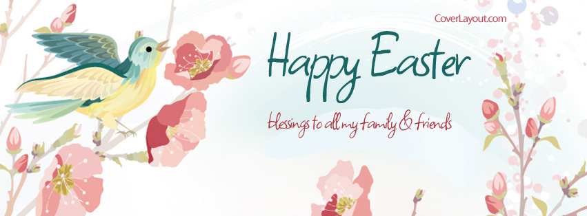 Easter clipart for facebook graphic free stock 17 Best images about Facebook Covers~ Hoppy Easter on Pinterest ... graphic free stock