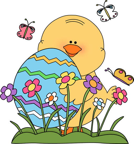 Easter clipart kids