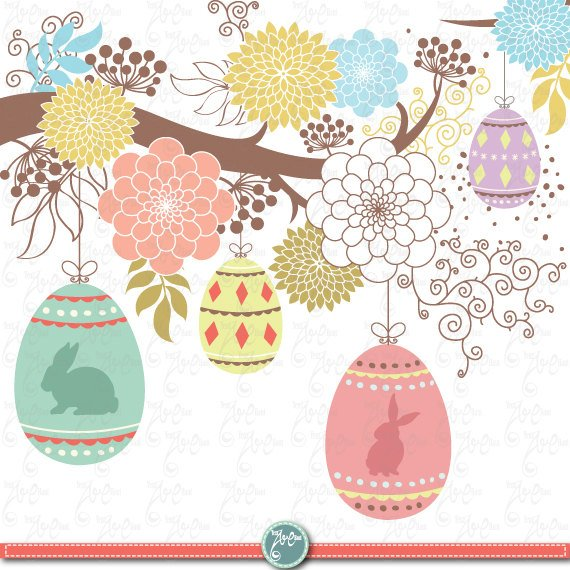 Easter clipart frames clipart freeuse library Easter clip art \