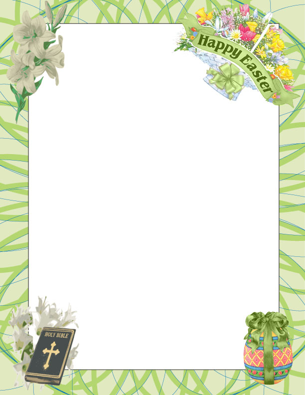 Easter clipart frames graphic freeuse download Free Easter Borders Cliparts, Download Free Clip Art, Free Clip Art ... graphic freeuse download
