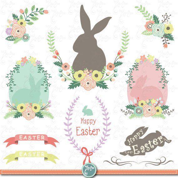 Easter clipart frames jpg royalty free stock Easter clip art \